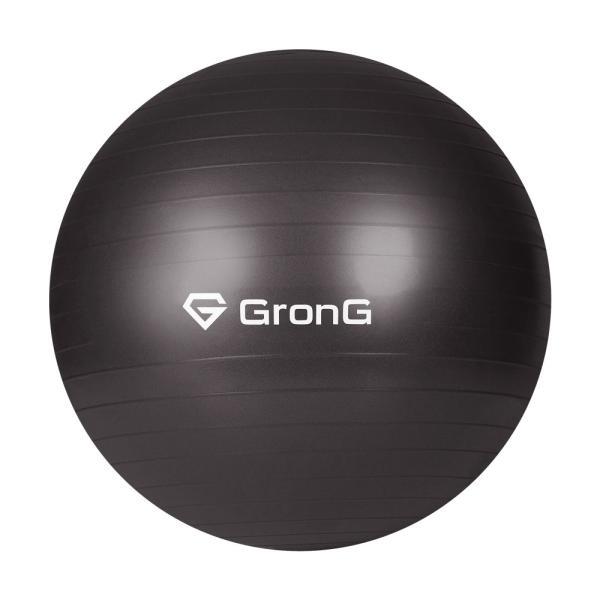 GronG バランスボール 75cm アンチバースト 耐荷重200kg ヨガ エクササイズ ボール grong 11