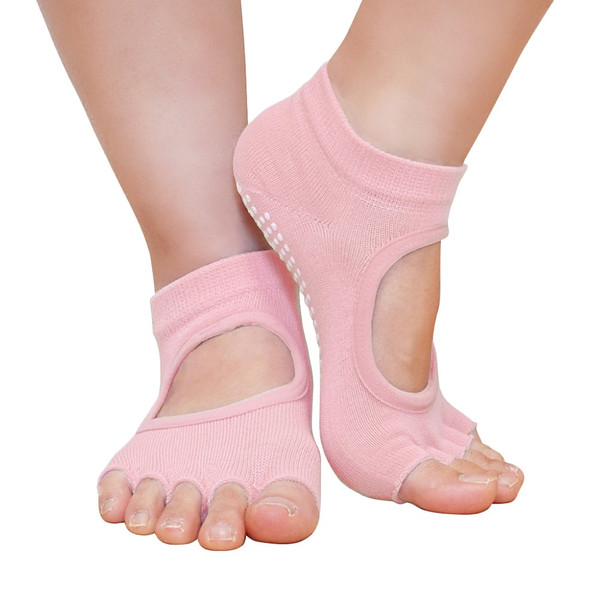 GronG ヨガ ソックス 1足セット 靴下 5本指 指なし 滑り止め 22cm〜25cm grong 12