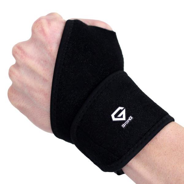 GronG 手首サポーター リストラップ スポーツ用 手首固定 左右兼用|grong|09