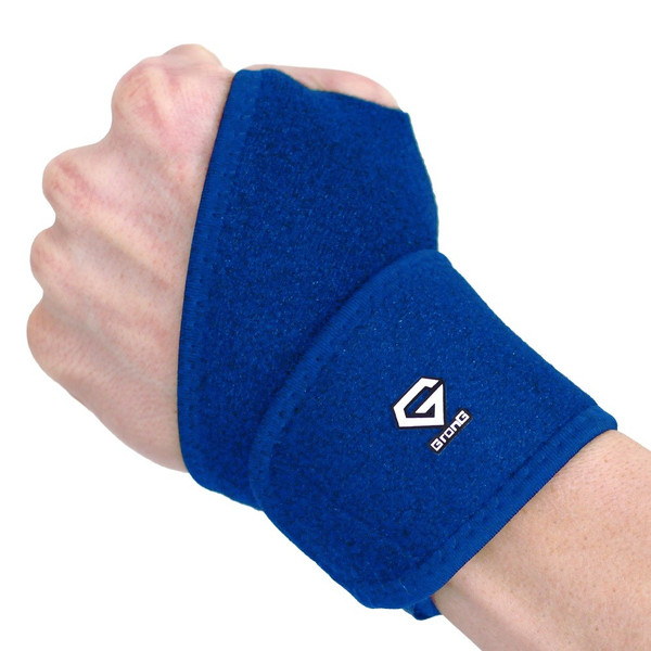 GronG 手首サポーター リストラップ スポーツ用 手首固定 左右兼用|grong|10