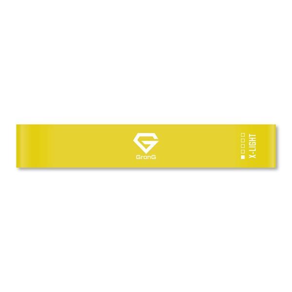 GronG トレーニングチューブ インナーマッスル エクササイズバンド 筋トレ ゴムバンド ループバンド 強度別単品 バラ売り|grong|10