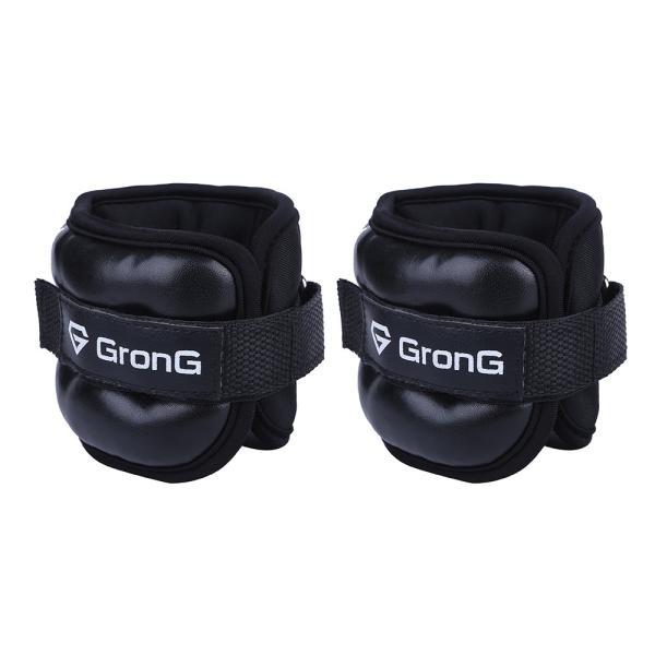 GronG アンクルリスト 1kg 2個セット アンクルウェイト リストウェイト パワーアンクル grong 08