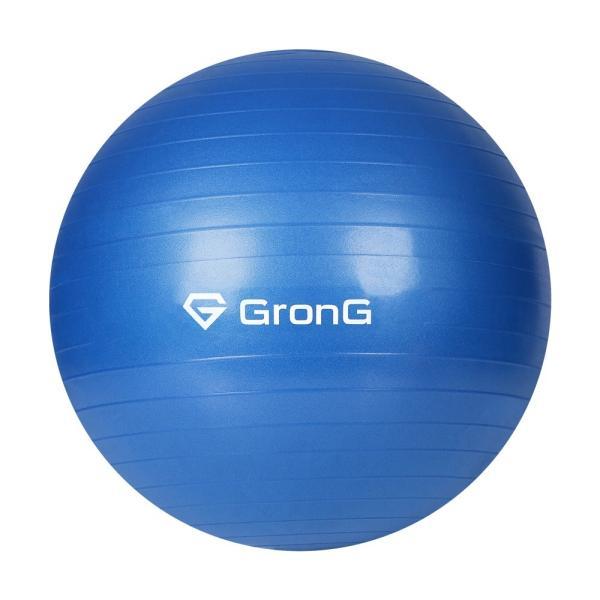 GronG バランスボール 75cm アンチバースト 耐荷重200kg ヨガ エクササイズ ボール grong 10
