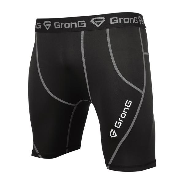 GronG スポーツタイツ メンズ コンプレッション アンダーウェア ショート|grong|07