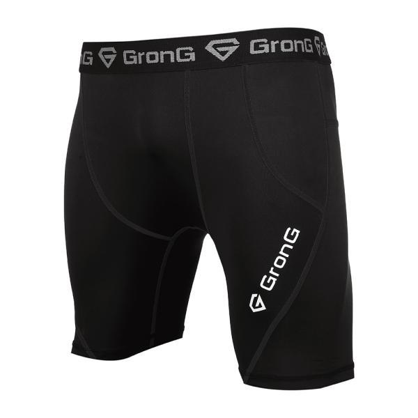 GronG スポーツタイツ メンズ コンプレッション アンダーウェア ショート|grong|09