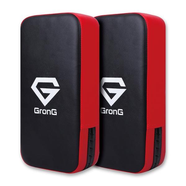GronG(グロング) キックミット キックボクシング 空手 格闘技 ボクササイズ 2個セット|grong|07