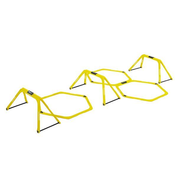 GronG トレーニングラダー ミニハードル アジリティ 室内 屋外 サッカー  陸上 バスケットボール 野球 フットサル 六角形 ヘキサラダー|grong|08