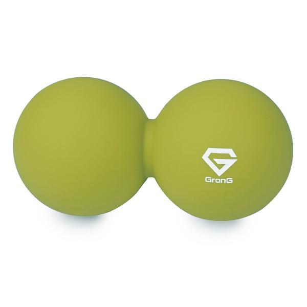 GronG ツインボール ストレッチボール ピーナッツ型 テニスボールサイズ ソフト ミディアム ハード grong 12