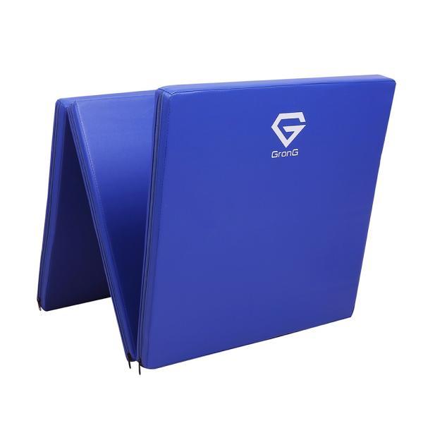 GronG トレーニングマット 体操マット 折りたたみ 筋トレ 厚手 180×60×5cm|grong|10