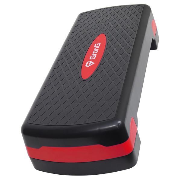 GronG(グロング) 踏み台 昇降運動 ステップ台 運動 フィットネス エクササイズ 2段階調整可能 滑り止め加工|grong|09