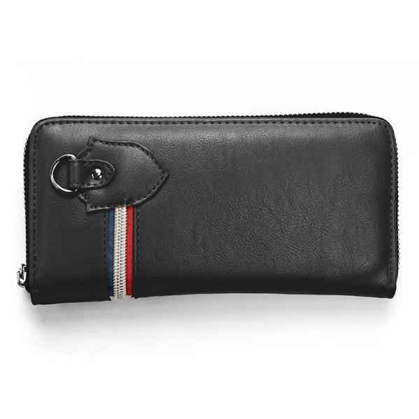 長財布 財布 サイフ さいふ メンズ 小銭入れ お札入れ ファスナー カード 収納 スマート おしゃれ 名入れ|groover-grand|21