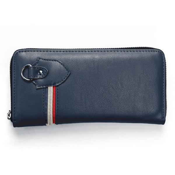 長財布 財布 サイフ さいふ メンズ 小銭入れ お札入れ ファスナー カード 収納 スマート おしゃれ 名入れ|groover-grand|23