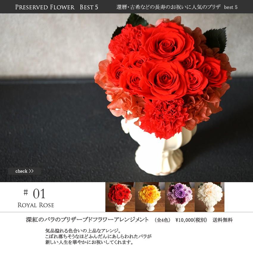 還暦祝い、還暦、卒寿、米寿、喜寿、長寿のお祝い、プリザーブドフラワー、ブリザードフラワー、お花、プレゼント