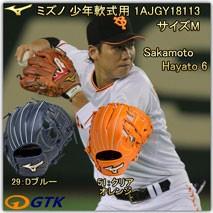 mizunoの少年用グローブ1AJGY18113坂本勇人モデル