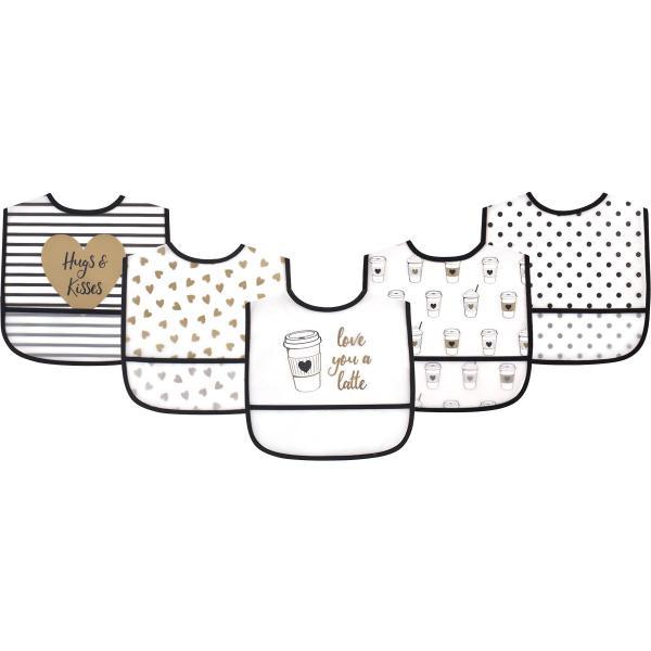 ポケット付き 防水食事用エプロン 5枚入り (ビブセット 動物 新生児 お食事エプロン 保育園) gudezacom 16