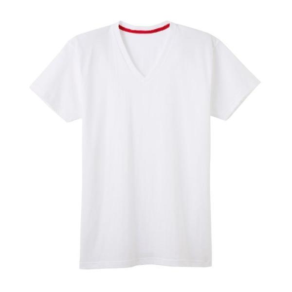 GUNZE(グンゼ)/BODY WILD(ボディワイルド) /オーガニックコットン シームレス VネックTシャツ(メンズ)/BWL215A/M〜LL|gunze|08