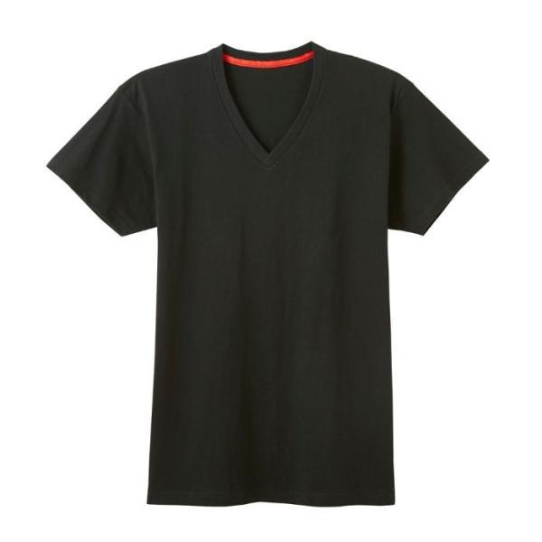 GUNZE(グンゼ)/BODY WILD(ボディワイルド) /オーガニックコットン シームレス VネックTシャツ(メンズ)/BWL215A/M〜LL|gunze|09