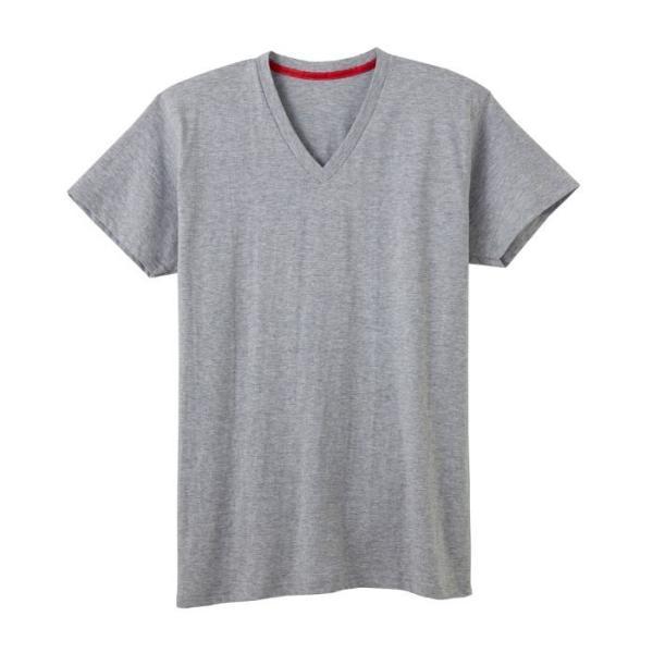 GUNZE(グンゼ)/BODY WILD(ボディワイルド) /オーガニックコットン シームレス VネックTシャツ(メンズ)/BWL215A/M〜LL|gunze|10