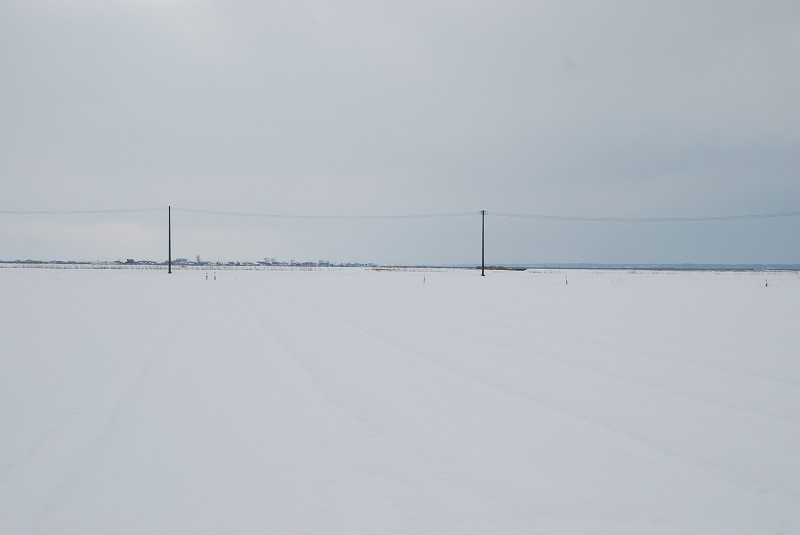 つがる市 冬