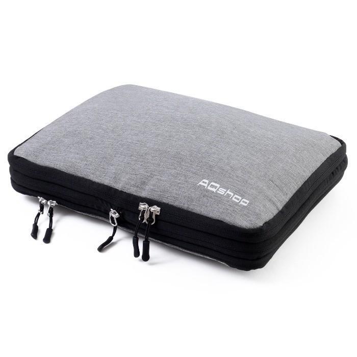 圧縮バッグ 衣類 収納 圧縮袋 二層 ファスナー式 ジム アウトドア 海外旅行 旅行 便利グッズ トラベルポーチ 送料無料 セール|h-mango|08