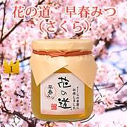 1位 国産蜂蜜 花の道 早春みつ(さくら)