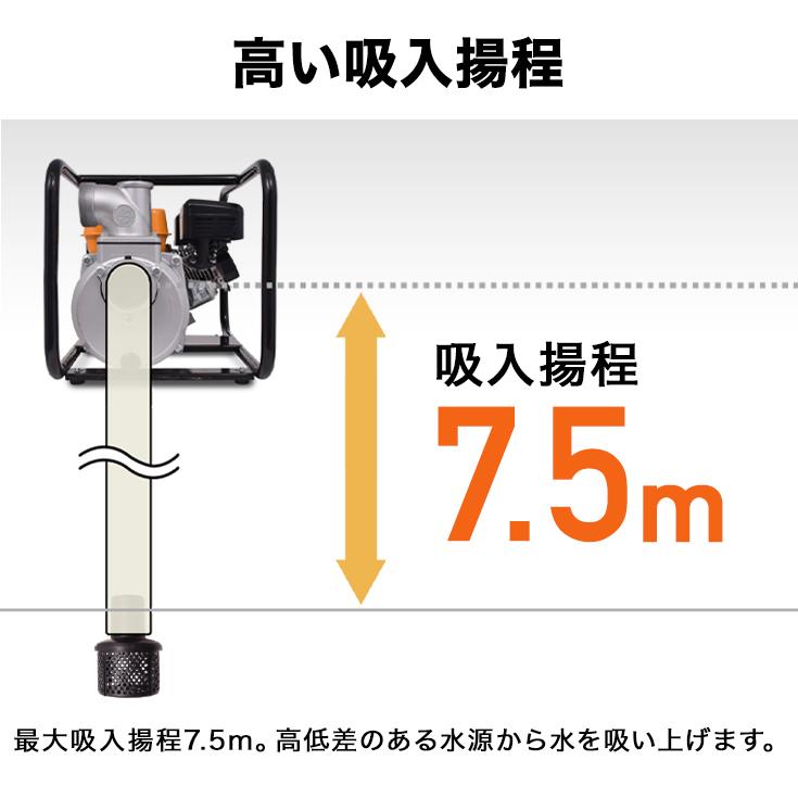 水ポンプ エンジンポンプ 給水ポンプ 排水ポンプ 灌漑 給排水