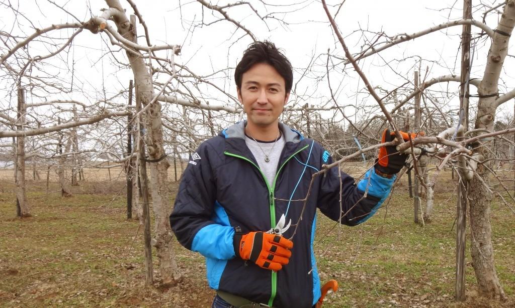 大野農園株式会社 大野栄峰さん