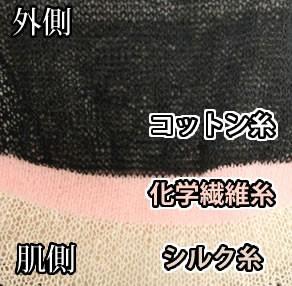 冷え取り靴下 肌シルク 五本指靴下