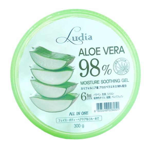 ルディア アロエべラ98% モイスチャースージングゲル(ジェル) 300g