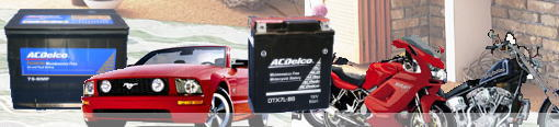 二輪車用・自動車用バッテリー