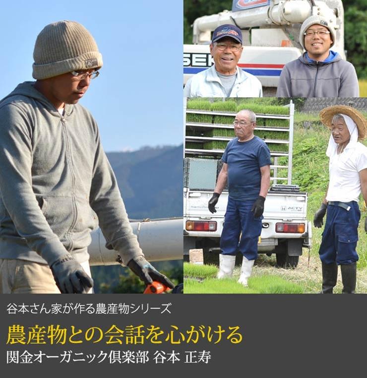 生産者 関金オーガニック倶楽部 谷本正寿