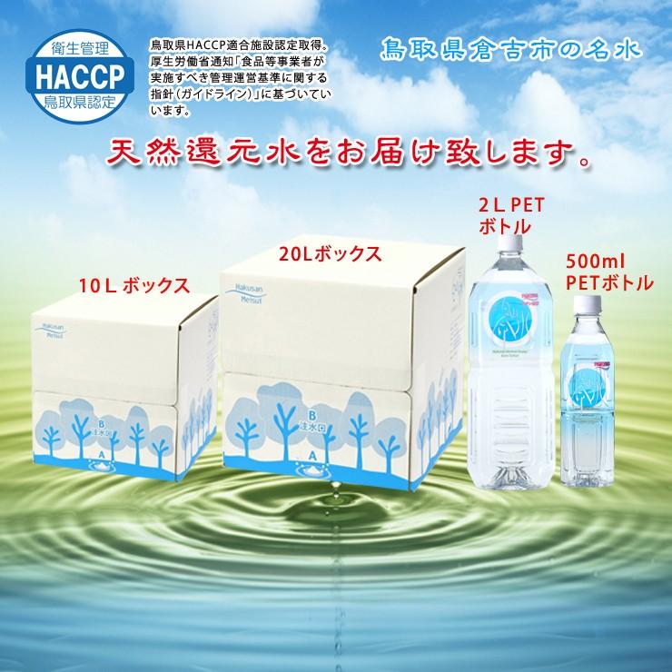 白山命水製品
