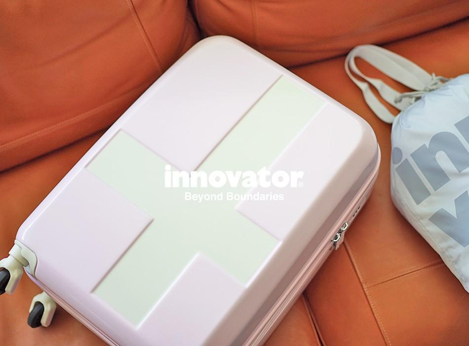 イノベーターのジッパーキャリーケースSサイズ限定カラー