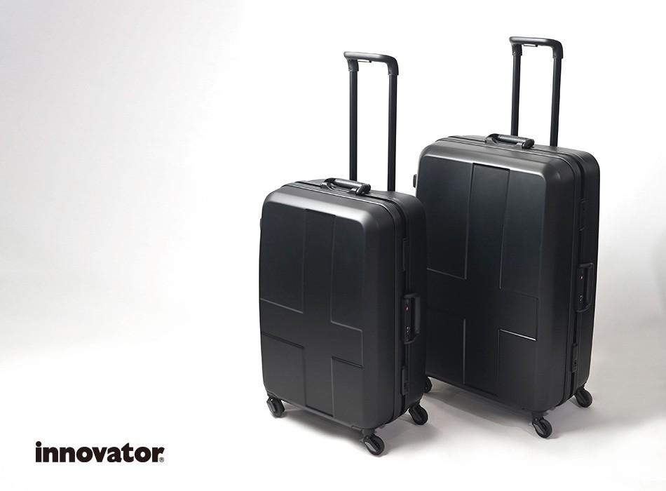 イノベーターのフレームスーツケースLサイズ定番カラー