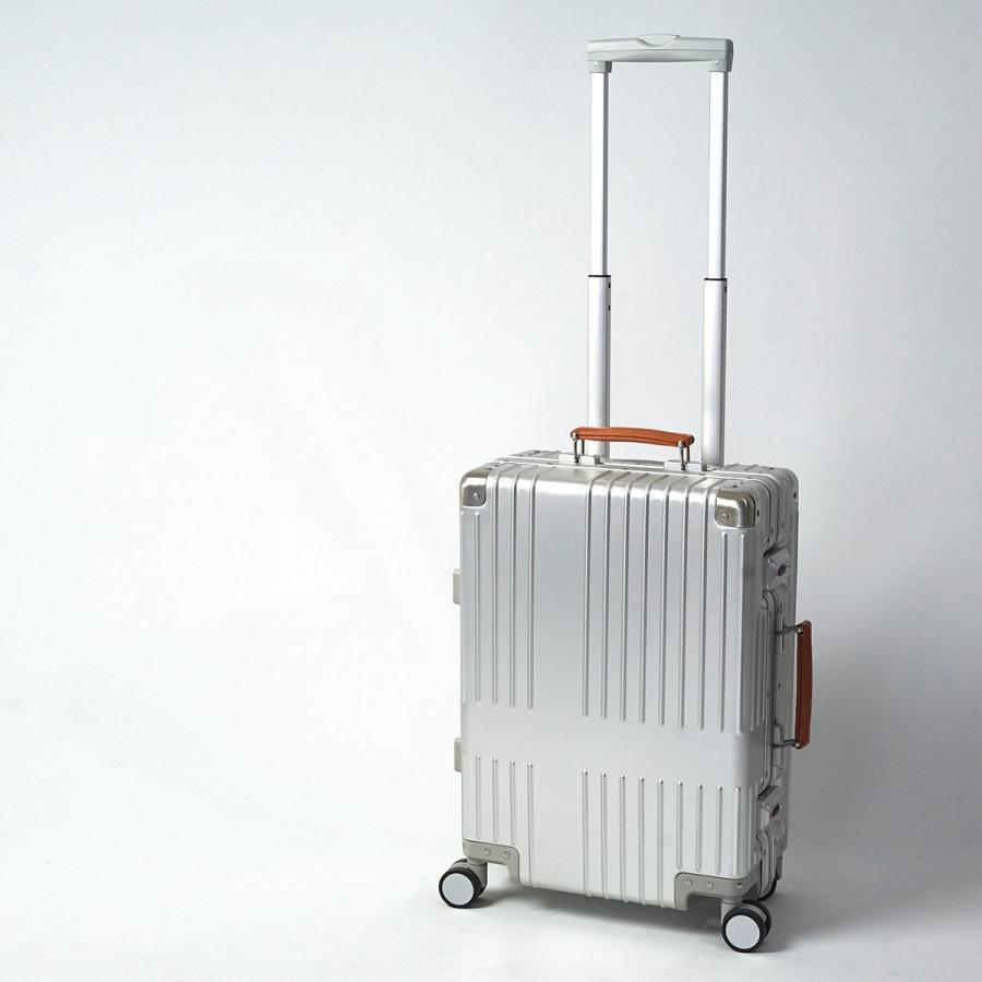 イノベーター スーツケース innovator inv1811 36L Sサイズ 機内持ち込みサイズ アルミキャリーケース アルミボデー 北欧 トラベル 送料無料 2年間保証|haloaboxart|13