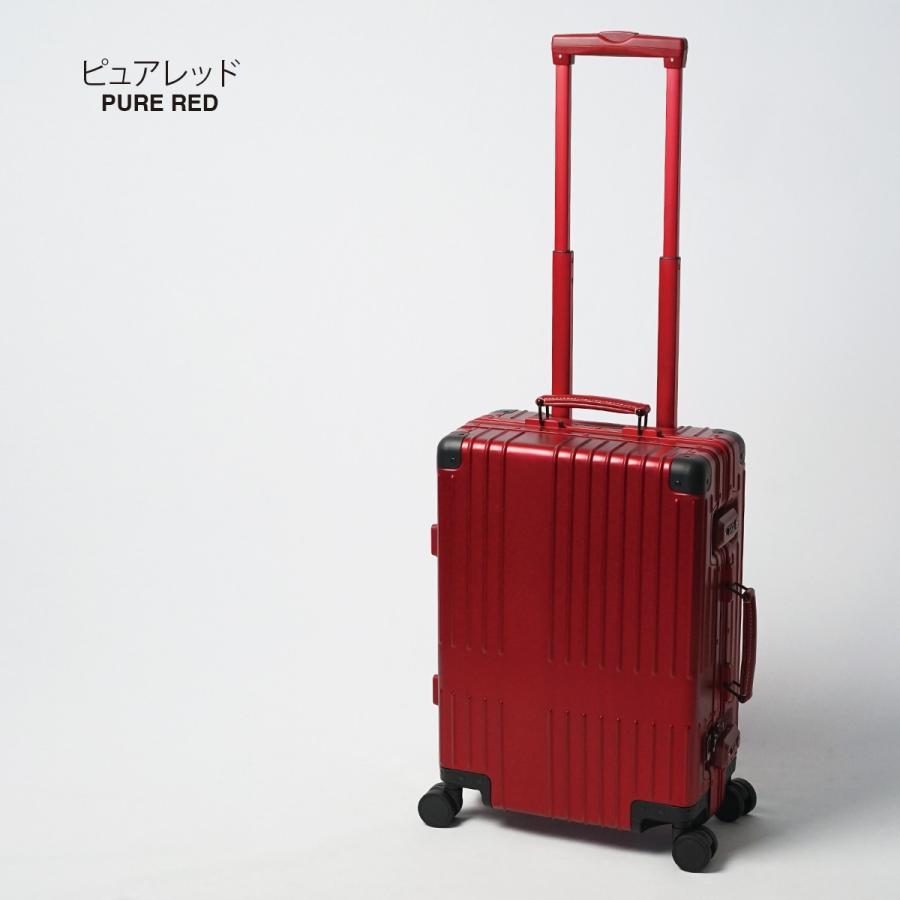 イノベーター スーツケース innovator inv1811 36L Sサイズ 機内持ち込みサイズ アルミキャリーケース アルミボデー 北欧 トラベル 送料無料 2年間保証|haloaboxart|17