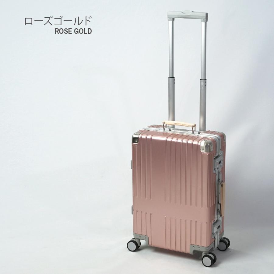 イノベーター スーツケース innovator inv1811 36L Sサイズ 機内持ち込みサイズ アルミキャリーケース アルミボデー 北欧 トラベル 送料無料 2年間保証|haloaboxart|18