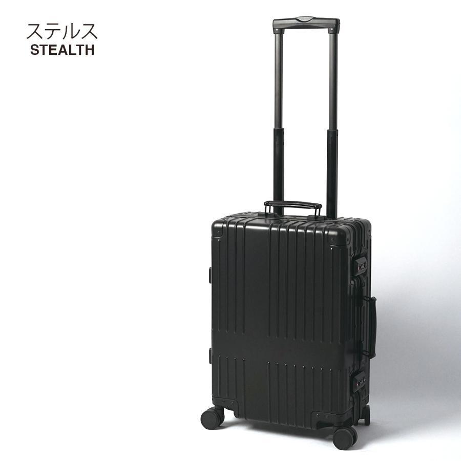 イノベーター スーツケース innovator inv1811 36L Sサイズ 機内持ち込みサイズ アルミキャリーケース アルミボデー 北欧 トラベル 送料無料 2年間保証|haloaboxart|15