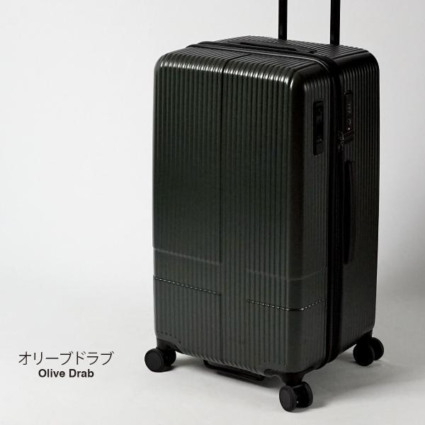 イノベーター スーツケース INV70 Mサイズ 75L 6〜7日用 ファスナータイプ エクストリーム innovator メーカ―直送|haloaboxart|16