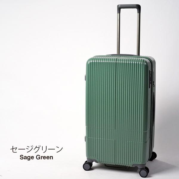 イノベーター スーツケース INV70 Mサイズ 75L 6〜7日用 ファスナータイプ エクストリーム innovator メーカ―直送|haloaboxart|12