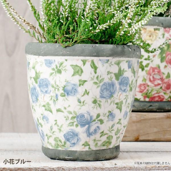 プランター おしゃれ 植木鉢 陶器 ローズフラワープランター 約4号|hana-kazaru|09
