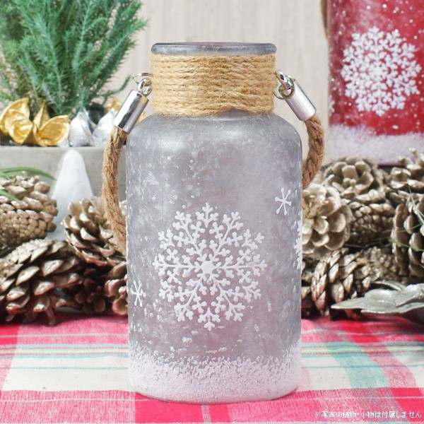 フラワーベース 花瓶 ガラス スノーフレークガラスボトル S|hana-kazaru|18