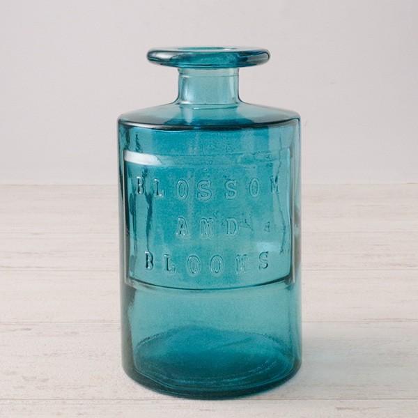 フラワーベース 花瓶 ガラス バレンシア・リサイクルガラスベース7|hana-kazaru|24