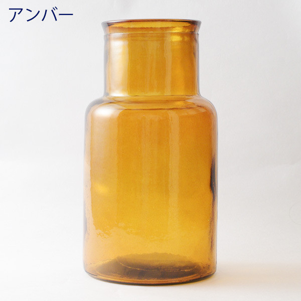 フラワーベース 花瓶 バレンシア・リサイクルガラスベース6|hana-kazaru|14