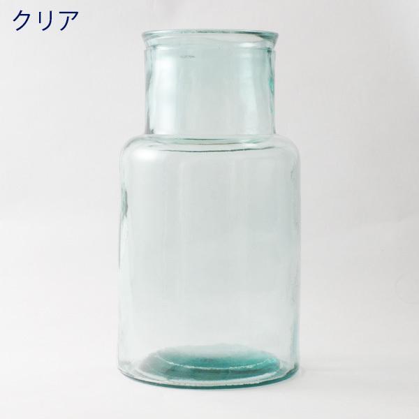 フラワーベース 花瓶 バレンシア・リサイクルガラスベース6|hana-kazaru|15