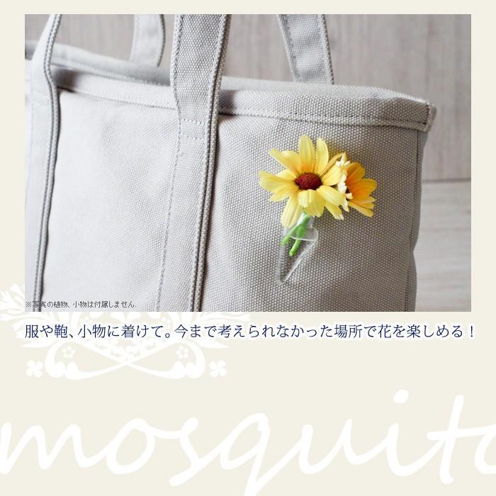 服や鞄、小物に着けて。今まで考えられなかった場所で生花を楽しめる!