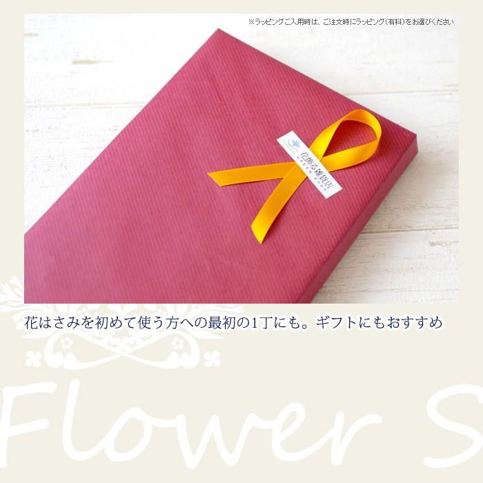 花はさみを初めて使う方への最初の一丁にも。ギフトにもおすすめ。