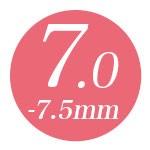 7.0mm-7.5mm