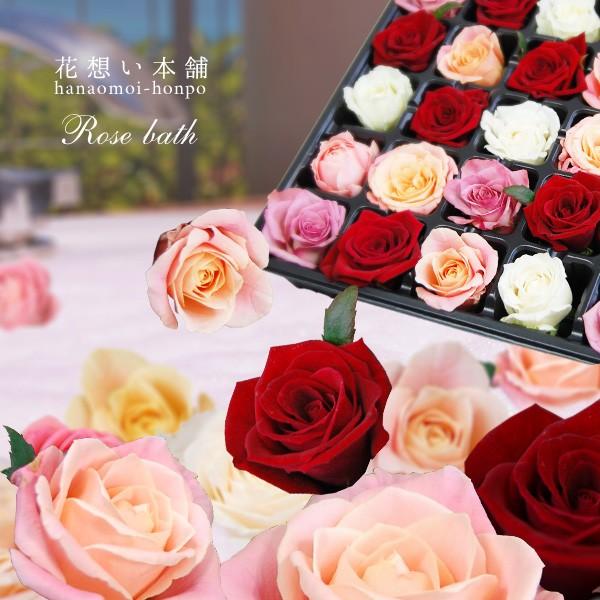 薔薇風呂セット77輪