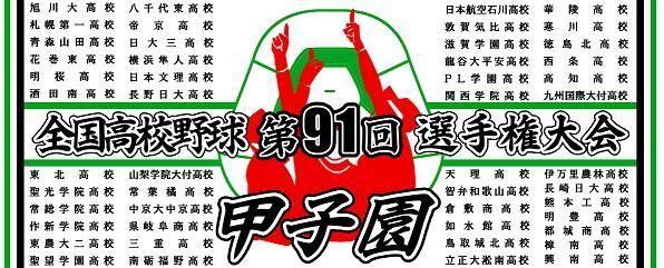 2009 夏の甲子園 高校野球選手権大会 全出場校校名入りタオル
